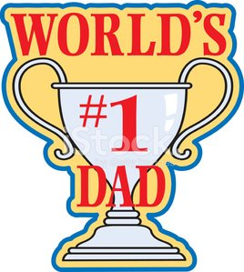 World s greatest dad trophy clipart png freeuse download Number One Dad Heading C premium clipart - ClipartLogo.com png freeuse download