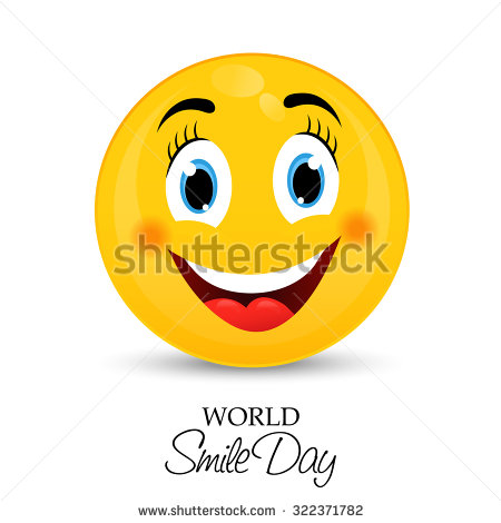World smile day clipart graphic library library 50 Best World Smile Day Greeting Pictures And Photos graphic library library