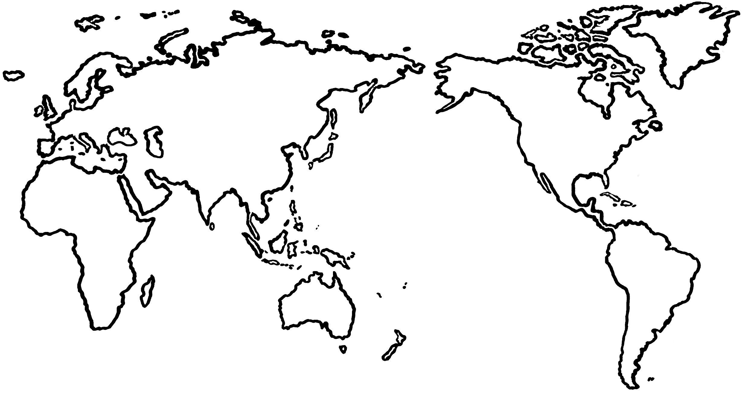 World template clipart clipart freeuse library Flat world map clipart kid - ClipartBarn clipart freeuse library