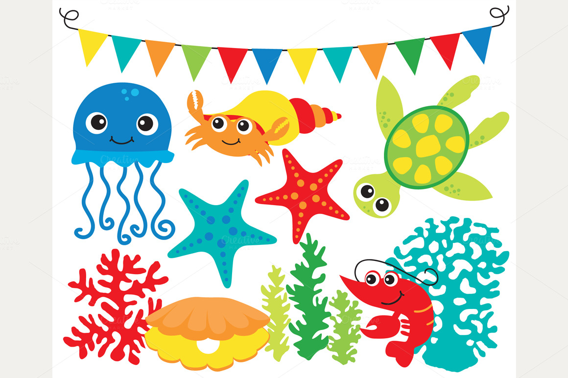 World under the sea clipart picture freeuse Free Sea World Cliparts, Download Free Clip Art, Free Clip ... picture freeuse