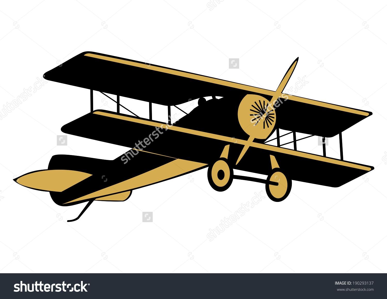 World war 1 cartoon clipart freeuse library Clip Art Aircraft First World War Stock Vector 190293137 ... freeuse library