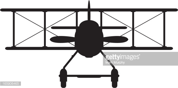 World war 1 cartoon clipart svg royalty free stock Ww1 Style Military Biplane Silhouette Vector Art | Getty Images svg royalty free stock