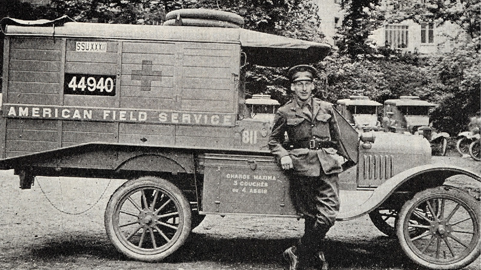 World war one ambulance clipart picture free library Americans in French Helmets: The Enigma of the American Adrian picture free library