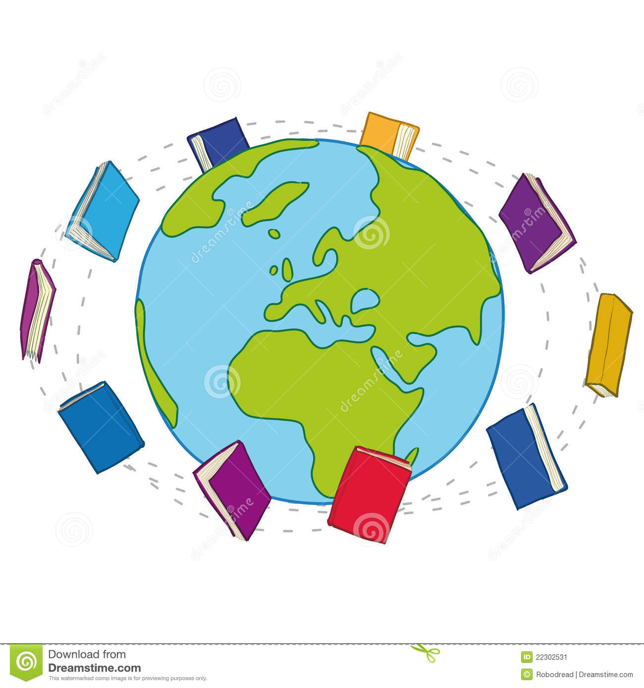 World with books clipart image free World with books clipart - ClipartFest image free