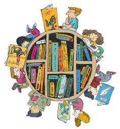 World with books clipart svg stock Biblioteca clipart - ClipartFest svg stock