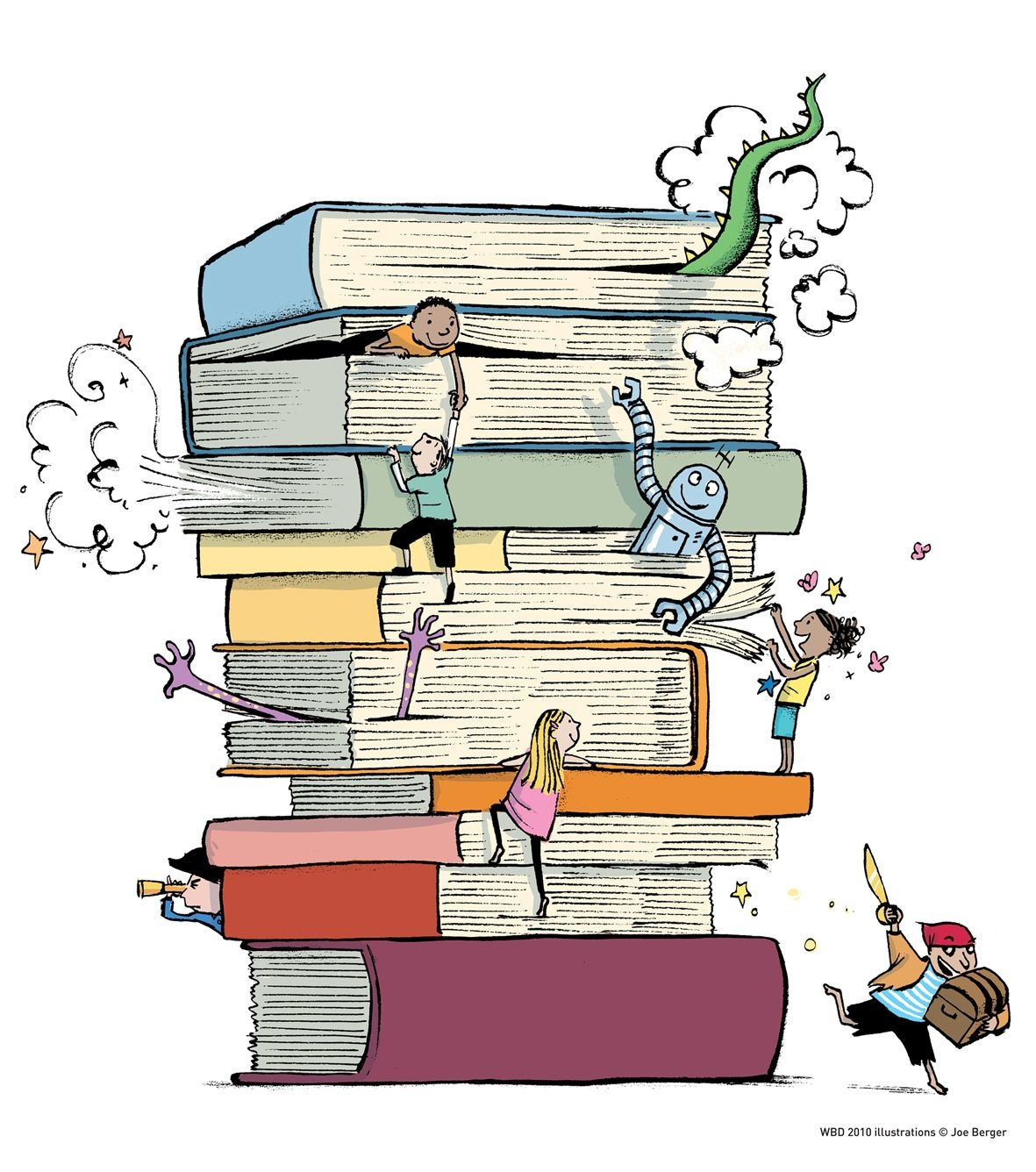 World with books clipart graphic transparent stock Books world clipart - ClipartFest graphic transparent stock