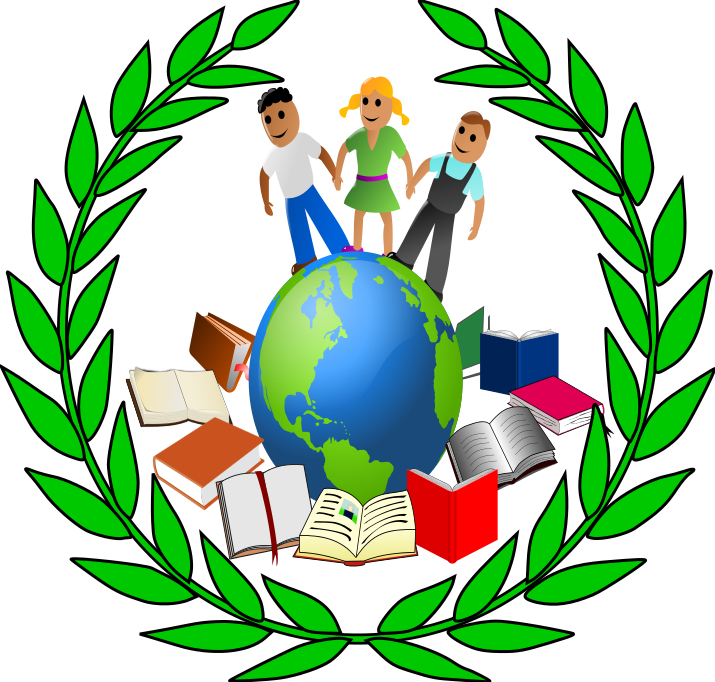 World with books clipart clip art download World with books clipart - ClipartFest clip art download