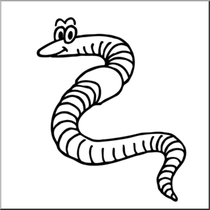 Worm with ahat black and white clipart jpg library Worm Clipart Black And White | Free download best Worm ... jpg library
