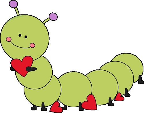 Worms clipart valentines banner free Valentine\'s Day caterpillar. | Valentine\'s Day Clip Art ... banner free