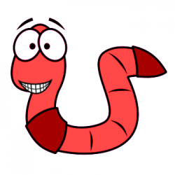 Worms in soil clipart banner What to Feed Your Red Wiggler Worms | My Board | Red wiggler ... banner