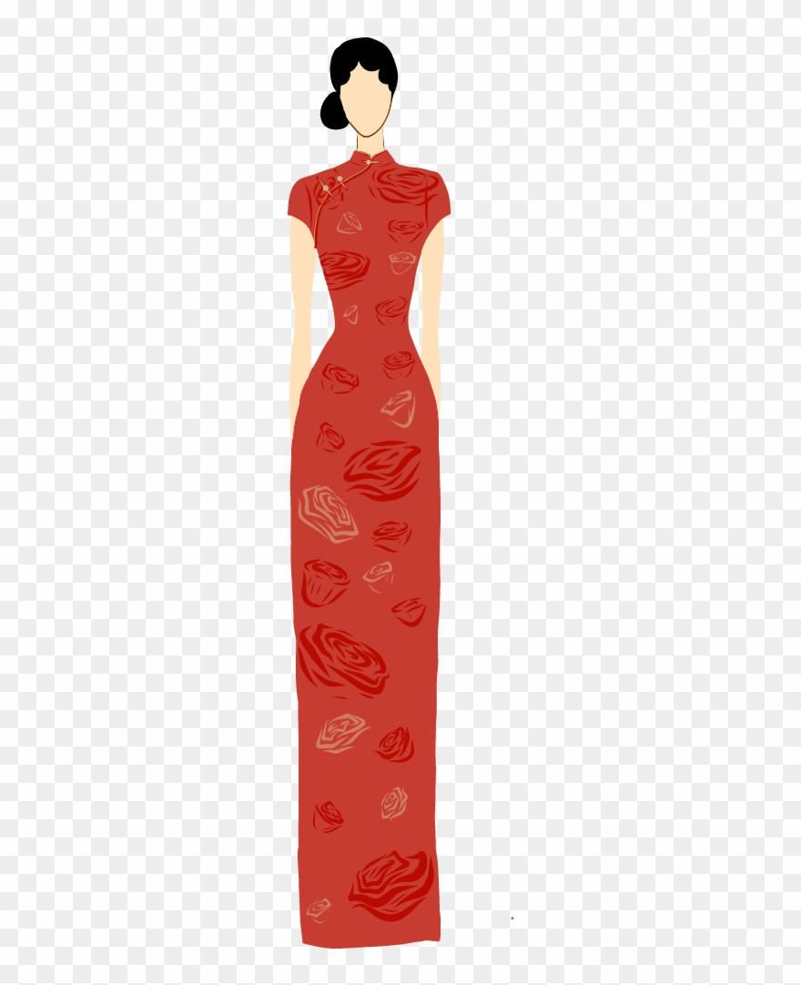 Worn out person clipart clipart library download One Of The Most Popular Tunics Worn By Women In China ... clipart library download