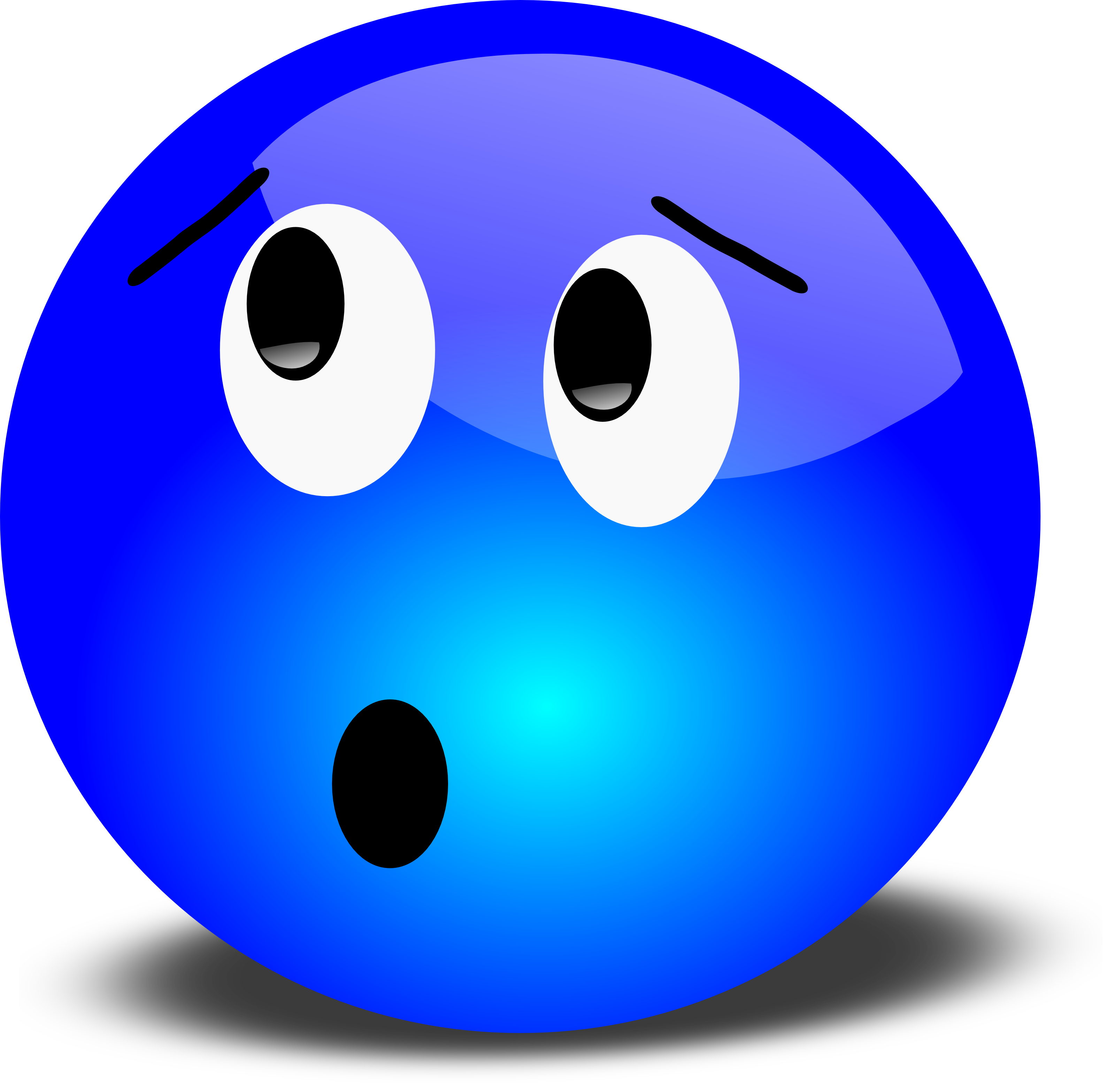 Worried faces clipart png library library Worried Face Clip Art | Free 3D Worried Smiley Face Clipart ... png library library