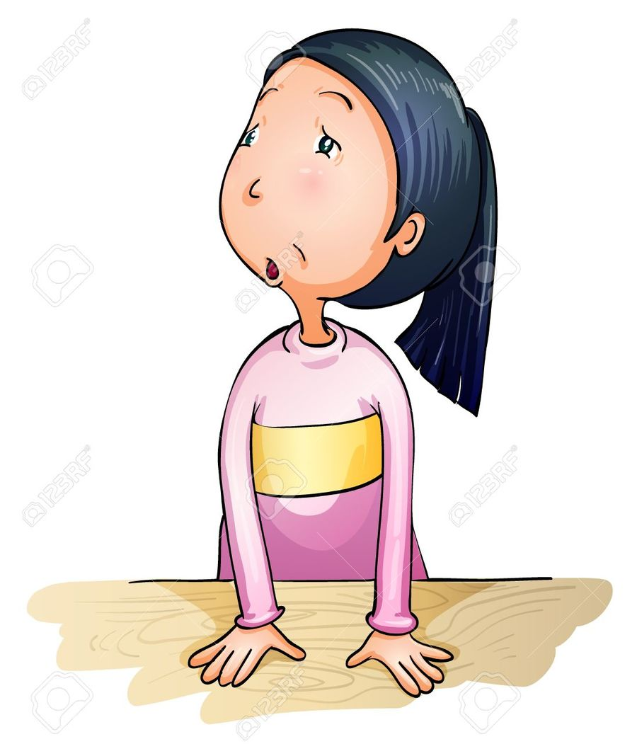 Worried girl clipart image free stock Download worried little girl cartoon clipart Clip art ... image free stock