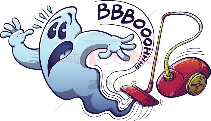 Worst nightmare clipart clip art royalty free Halloween ghost vacuum cleaner nightmare clip art royalty free