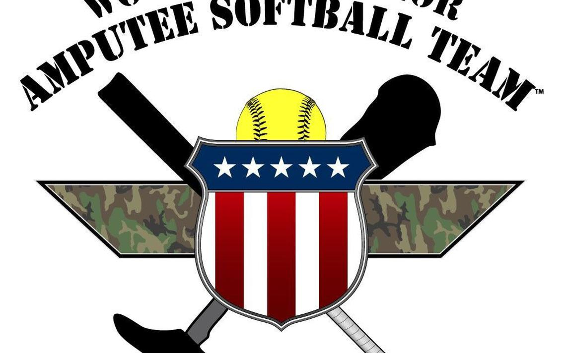 Wouinded warrior clipart picture transparent library Softball: Wounded Warrior Amputee game highlights patriotic ... picture transparent library