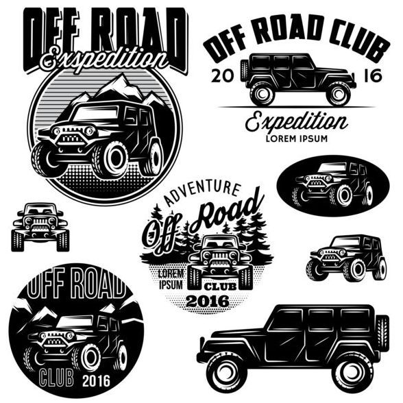 Wrangler sport logo vectored clipart banner free stock Download gratuito EPS file Off road club loghi creativi ... banner free stock