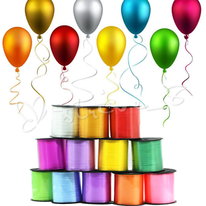 Wrap party clipart images picture royalty free library Details about 250Yd Wedding Birthday Gift Wrap Party Decor Balloon Color  Curling Ribbon Roll S picture royalty free library