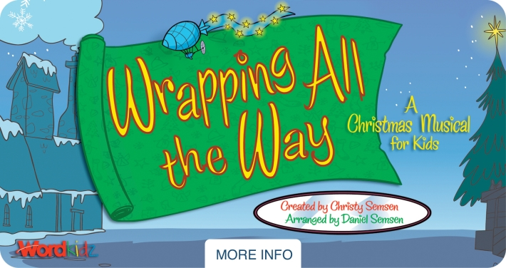 Wrapping all the way clipart