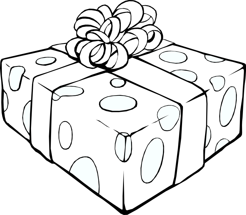 Wrapping well clipart image royalty free stock Gift Box Clipart - Graphics of Beautifully Wrapped Presents image royalty free stock