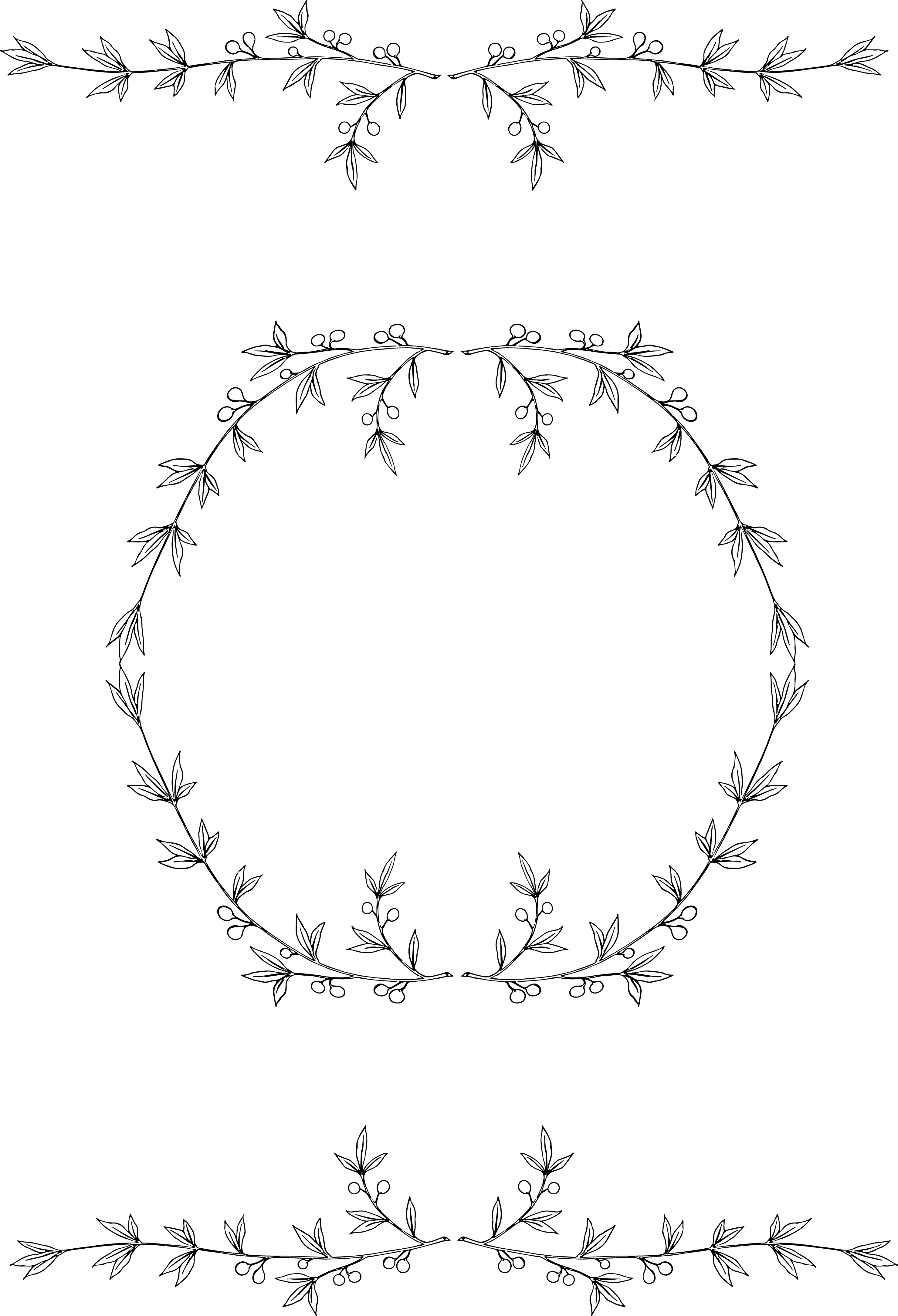Wreath branches free clipart graphic royalty free download Free Wreath Cliparts, Download Free Clip Art, Free Clip Art ... graphic royalty free download
