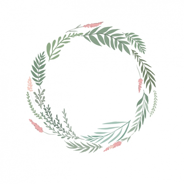 Wreath clipart watercolour picture library Watercolor floral wreath Vector | Free Download picture library