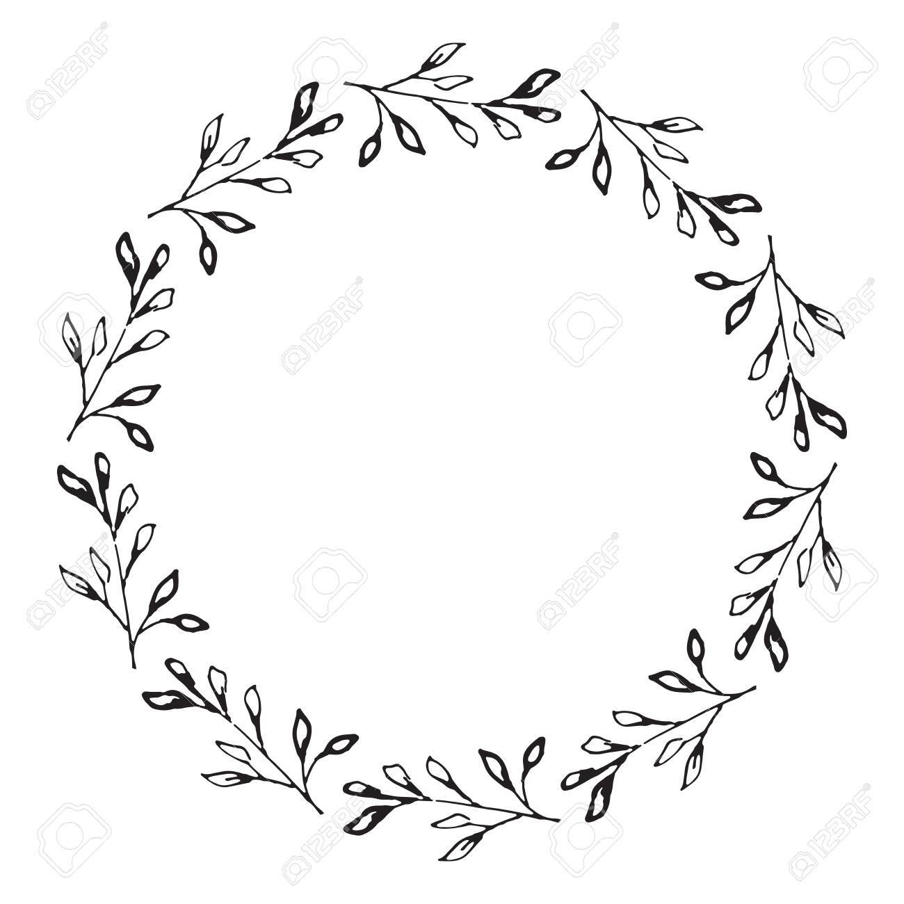 Wreath clipart free download image Wreath Drawing | Free download best Wreath Drawing on ... image