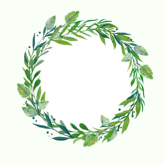 Wreath clipart watercolour banner download Hydrangea Wreath, Watercolor Wreath, Botanical Wreath ... banner download