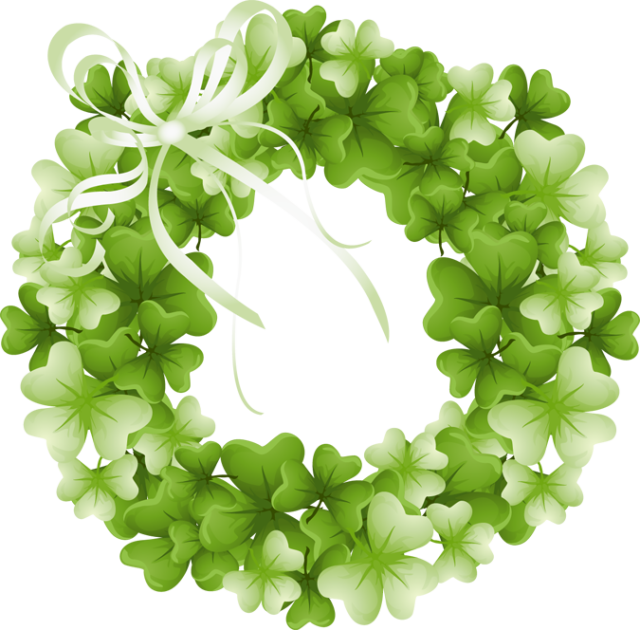Wreath clover clipart clip free library Clover clipart wreath, Clover wreath Transparent FREE for ... clip free library