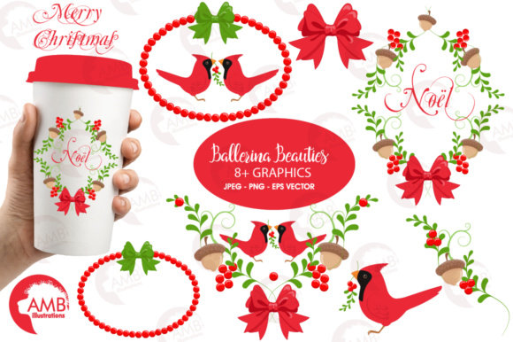 Wreath embellishment clipart png transparent download Xmas Embellishment Clipart png transparent download