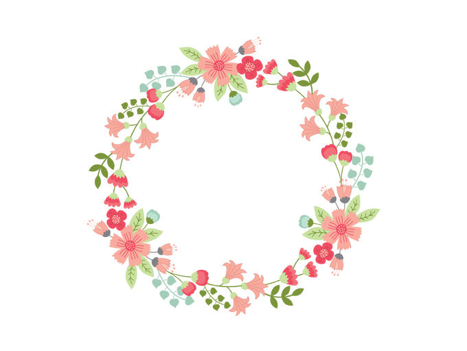 Wreath embellishment clipart clip transparent Vine Wreath Cliparts | Free download best Vine Wreath ... clip transparent