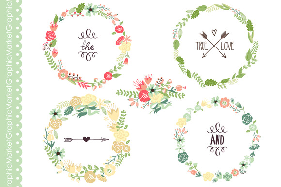Wreath of flower clipart png jpg free download Wreath of flower clipart png - ClipartFox jpg free download