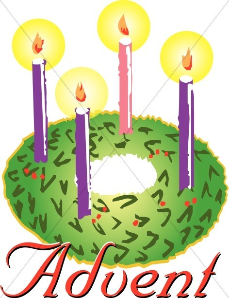 Wreath with candles clipart vector royalty free stock Advent wreath candles clipart 3 » Clipart Portal vector royalty free stock