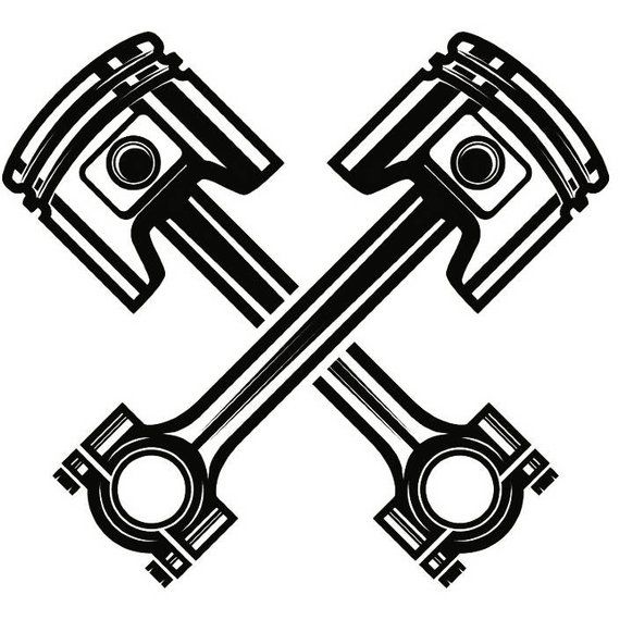 Wrench and engine clipart clip black and white library Piston and Wrench Logo - LogoDix clip black and white library