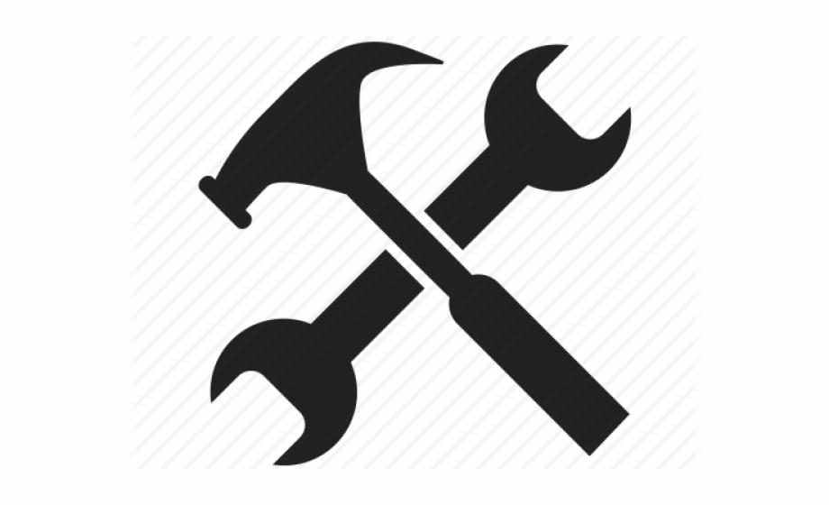 Wrench logo clipart vector freeuse Spanner Clipart Work Tool - Wrench And Hammer Icon ... vector freeuse