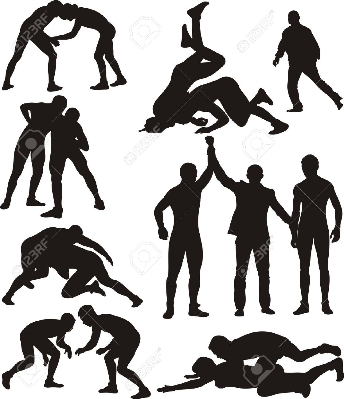 Wrestler front stance clipart banner library download Free Horse Clipart wrestling, Download Free Clip Art on ... banner library download
