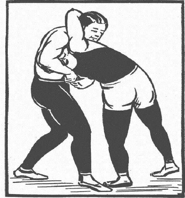 Wrestler pinning another wrestler black and white clipart royalty free Wrestling - Quick Guide - Tutorialspoint royalty free