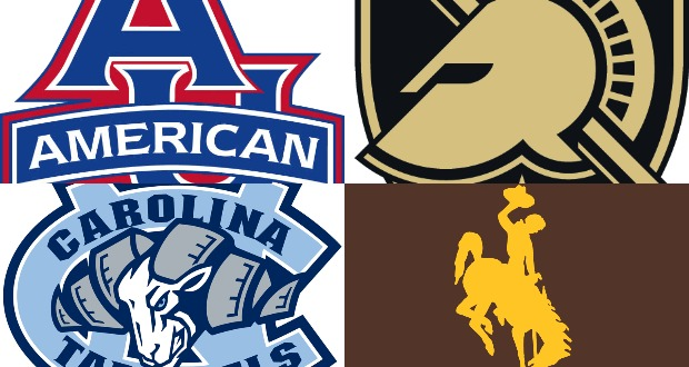 Wrestlers squaring off clipart jpg free American, Army, North Carolina and Wyoming Square Off at AU ... jpg free