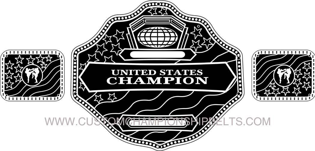 Wrestling belt clipart png black and white Wrestling belt clipart 2 » Clipart Station png black and white