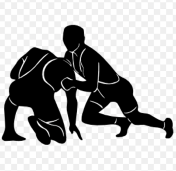 Wrestling clipart black and white download Free Wrestling Clipart - Graham Cracker Sports black and white download