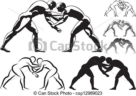 Wrestling logo clip art picture royalty free stock Wrestling clip art vector - ClipartFest picture royalty free stock