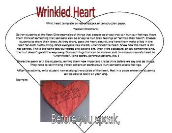 Wrinkled heart clipart
