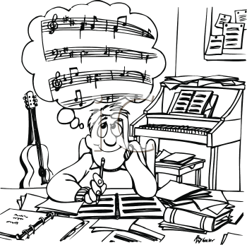 """Write and play music clipart clipart freeuse Aspects of the """"Creating"""" Artistic Process 
