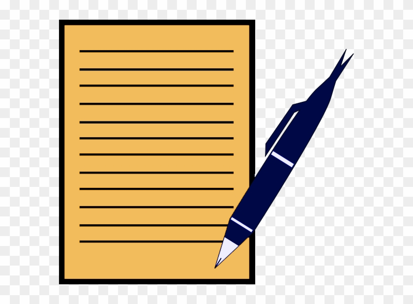 Write on paper clipart clip art library Pen And Paper Writing Png & Free Pen And Paper Writing.png ... clip art library
