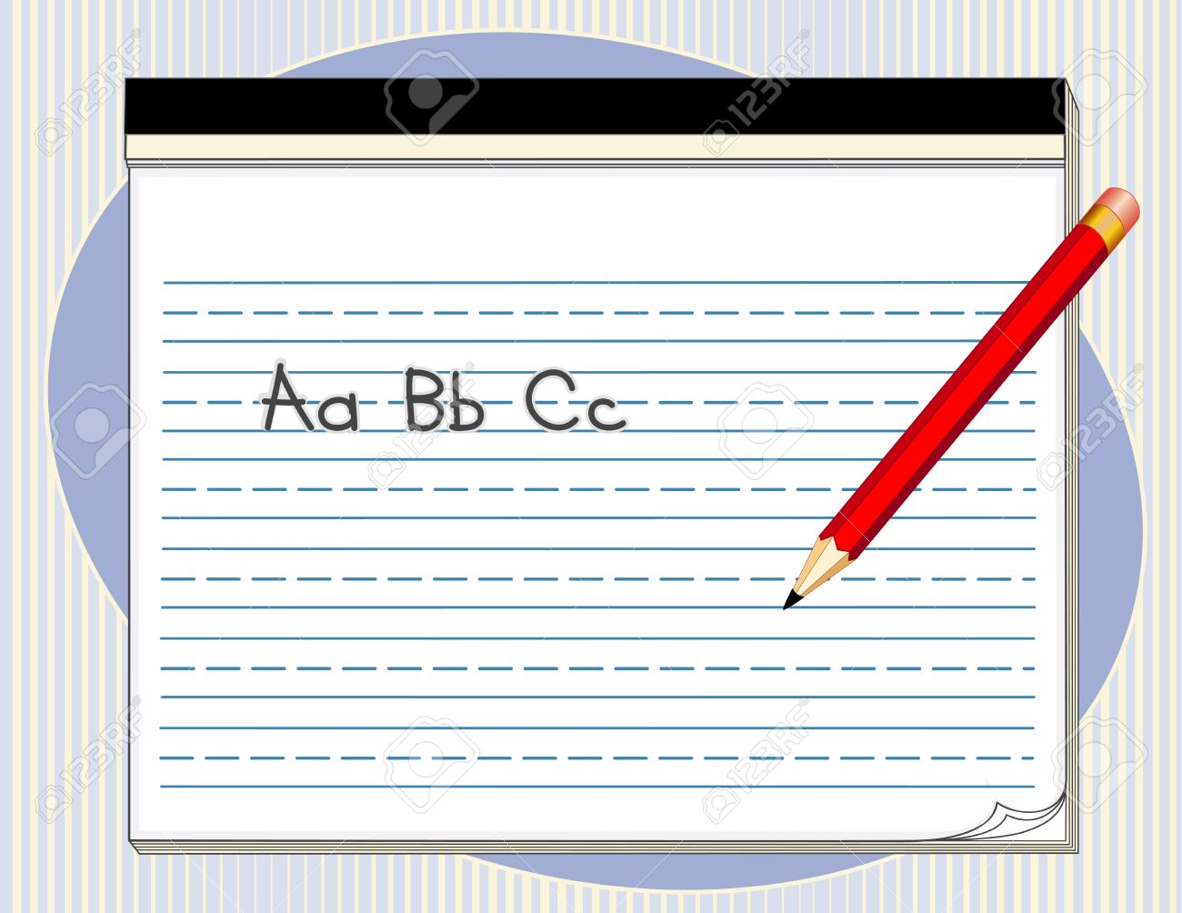 Writing abc clipart vector library Abc writing clipart - ClipartFest vector library