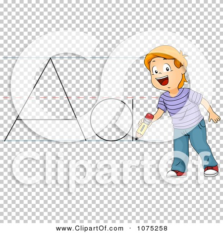 Writing abc clipart picture library library Clipart School Boy Writing ABC - Royalty Free Vector Illustration ... picture library library