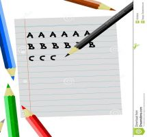 Writing abc clipart clip royalty free Writing Clipart Cute - clipartsgram.com clip royalty free