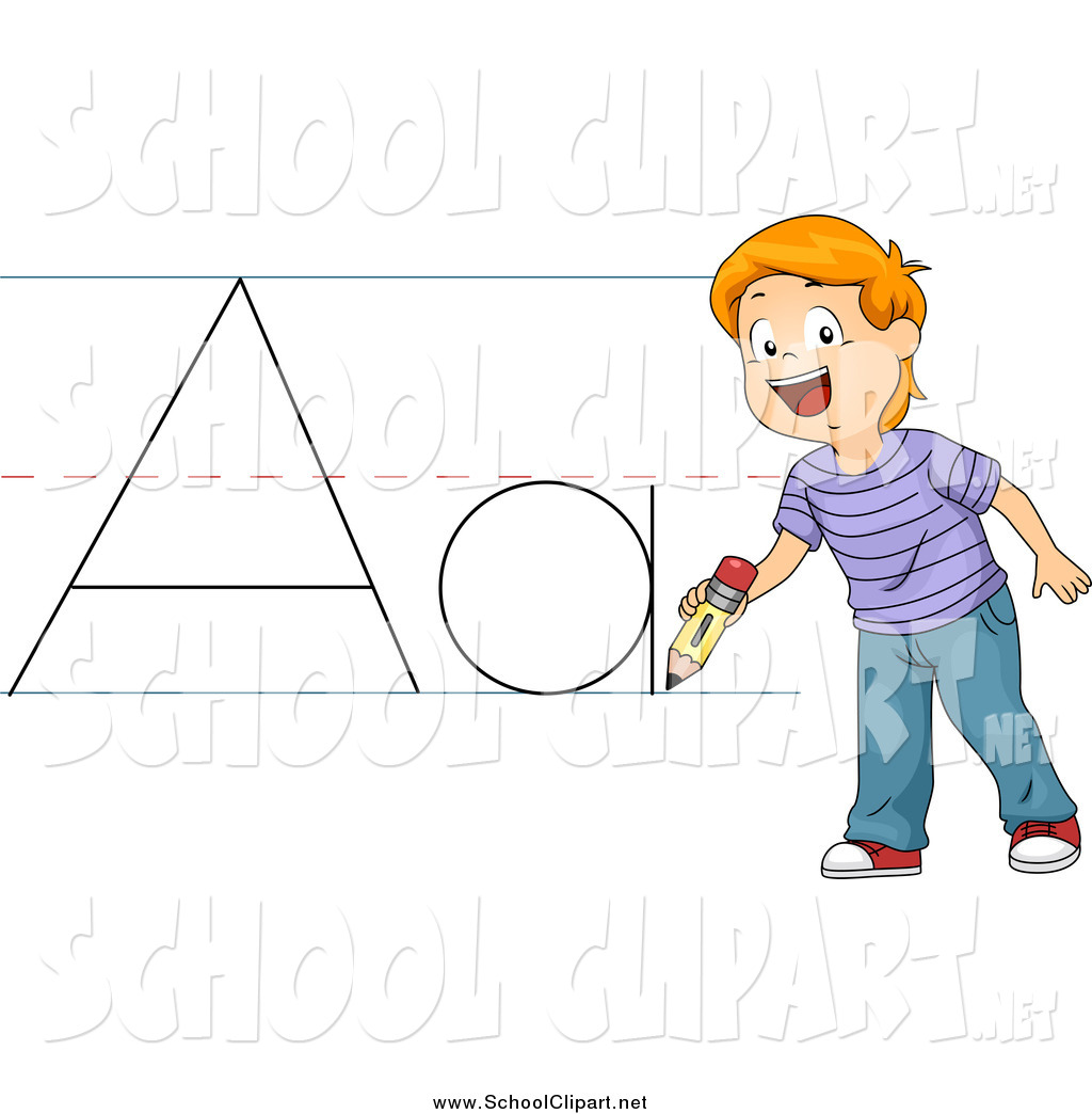 Writing abc clipart graphic free Abc writing clipart - ClipartFest graphic free