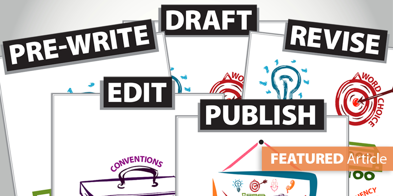 Writing and revising clipart svg freeuse library See the Traits within the Writing Process svg freeuse library