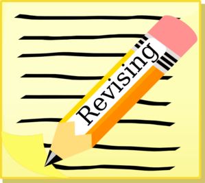 Writing and revising clipart