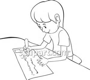 Writing black and white clipart svg black and white library Writing Clipart Black And White - Free Clipart svg black and white library